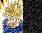 Goku enfurecido, el Super Saiyajin ha surgido