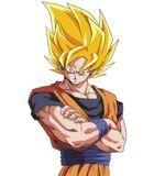 Goku y otro vector