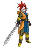 Vector de tapi??????usando la espada que despu鳠le regalar???a Trunks - Aja, una de esas pel???las de Dragon Ball Z