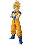 Goku preparandose para importante pelea