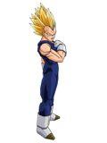 El ?o vector y la ?a imagen de Dragon Ball Z, y no pod???ser menos, es del gran Saiyajin Vegeta