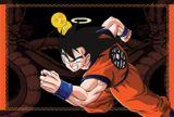 Goku recorriendo el camino de la serpiente