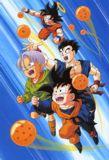 Goku, Gohan, Goten y Trunks