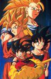Goku ni??????Goku crecidiot, Goku Super Saiyajin y Goku Super Saiyajin 3.. a chin, creo que ya hab???puesto esto en otra imagen