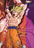 Goku como super Saiyajin, ?Intentando la Genkidama?