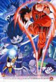 Goku enfrentando a los Saiyajin