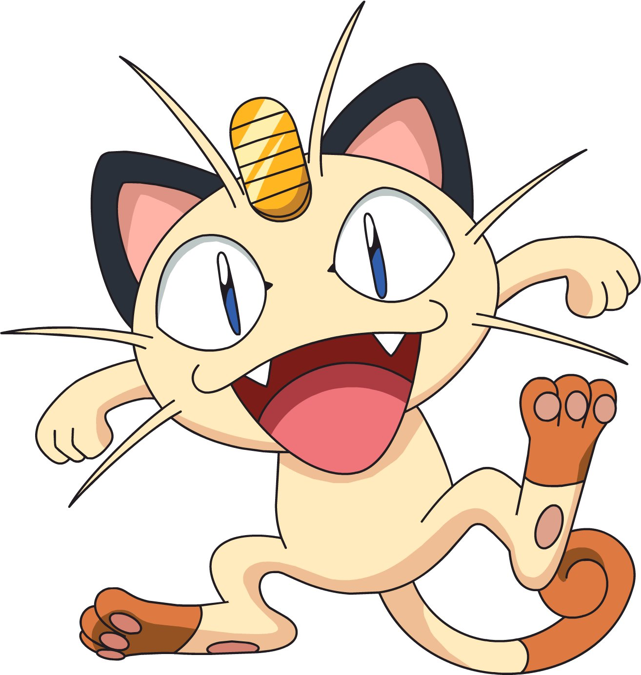 Pokemon Meowth Evoluti...